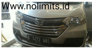 List grill type G 4 pics Avanza Grand All new