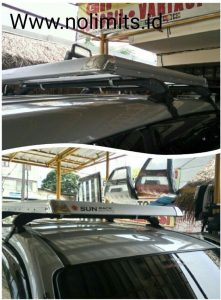 Rack kotak + sport rack Avanza new
