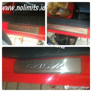 Sill plate samping stainless calya