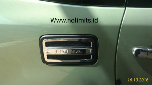Tank cover grand livina luxury chrome