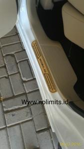 Sill plate Samping exlusive mobilio